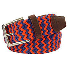Buy TYLER & TYLER Belt Woven Zigzag Belt in a Box Online at johnlewis.com