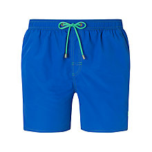 Buy BOSS Lobster Swim Shorts, Blue Online at johnlewis.com