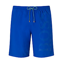 Buy BOSS Orca Swim Shorts, Blue Online at johnlewis.com