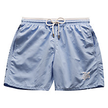 Buy Vilebrequin Solid Moka Embroidered Swim Shorts Online at johnlewis.com