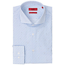 Buy HUGO Jason Slim Fit Shirt, Light Blue Online at johnlewis.com