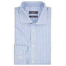 Buy John Lewis City Stripe Regular Fit Shirt, Blue Online at johnlewis.com