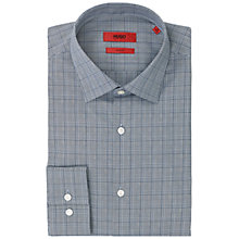 Buy HUGO Jenno Slim Fit Shirt, Grey Online at johnlewis.com