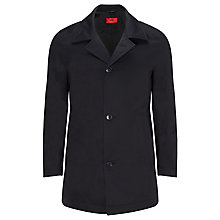 Buy HUGO Dais Cotton Mac, Dark Blue Online at johnlewis.com