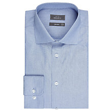 Buy John Lewis End on End Regular Fit Shirt, Blue Online at johnlewis.com
