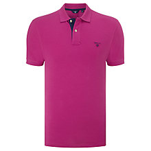 Buy Gant Contrast Collar Pique Polo Shirt Online at johnlewis.com
