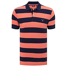 Buy Gant Bar Stripe Polo Shirt Online at johnlewis.com