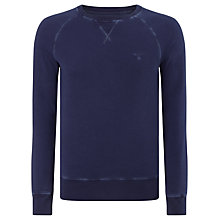 Buy Gant Sun Bleach Cotton Crew Neck Sweatshirt Online at johnlewis.com