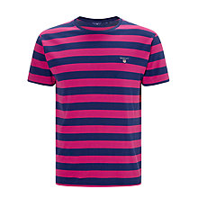 Buy Gant Bar Stripe T-shirt Online at johnlewis.com