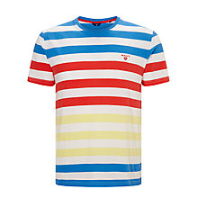 Buy Gant Multistripe T-Shirt, Multi Online at johnlewis.com