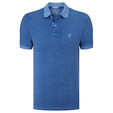 Buy Gant Sunbleached Check Pique Polo Shirt Online at johnlewis.com