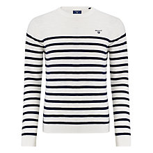 Buy Gant Breton Stripe Jumper Online at johnlewis.com