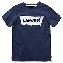 Buy Levi's Boys' Batlog T-Shirt Online at johnlewis.com