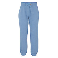 Buy John Lewis Boys' Brush Back Core Joggers, Blue Online at johnlewis.com