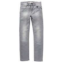 Buy Levi's Boys' 510 Skinny Fit Jeans, Grey Online at johnlewis.com