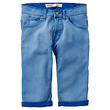 Buy Levi's Boys' Solid Shorts, Blue Online at johnlewis.com
