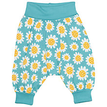Buy Frugi Organic Baby Daisy Parsnip Pant Trousers, Blue Online at johnlewis.com