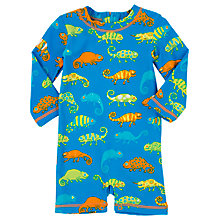 Buy Hatley Baby Chameleon Rash Guard Swimsuit, Blue Online at johnlewis.com