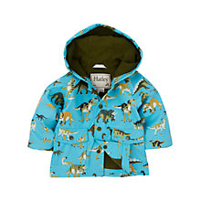 Buy Hatley Baby Dinosaur Raincoat, Blue Online at johnlewis.com