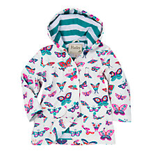 Buy Hatley Baby Butterfly Print Raincoat, Cream Online at johnlewis.com