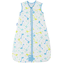 Buy Grobag Little Dino Baby Sleep Bag, 1 Tog, Blue Online at johnlewis.com