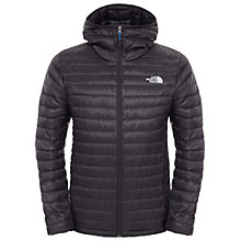 Buy The North Face Tonnerro Down Hooded Men's Jacket, Black Online at johnlewis.com