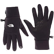 Buy The North Face Etip Gloves, Black Online at johnlewis.com