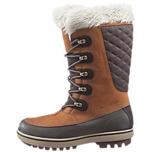 Buy Helly Hansen Garibaldi Winter Leather Boots, Brown Online at johnlewis.com