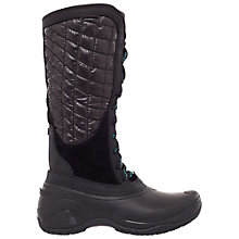 Buy The North Face Women's Thermoball Utility Snow Boots, Black Online at johnlewis.com