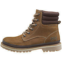 Buy Helly Hansen Gataga Leather Men's Boots, Brown Online at johnlewis.com
