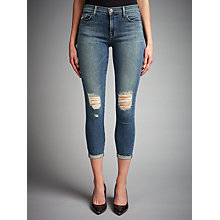 Buy J Brand Crop Mid Rise Capri Jeans, Breathless Online at johnlewis.com
