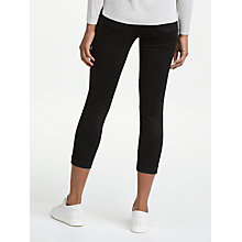 Buy J Brand Anja Luxe Sateen Skinny Jeans, Black Online at johnlewis.com