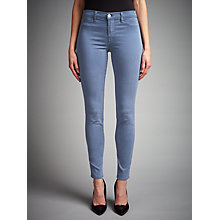 Buy J Brand Mid Rise Super Skinny Jeans, Moonlight Online at johnlewis.com