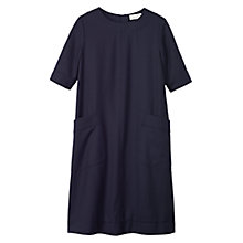 Buy Toast Washed Wool Dress Online at johnlewis.com