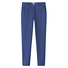 Buy Toast Washed Wool Trousers, Indigo Online at johnlewis.com