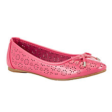 Buy John Lewis Children's Emilia Daisy Ballet Pump Online at johnlewis.com