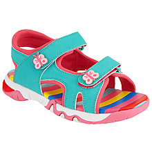 Buy John Lewis Children's Rainbow Trekker Sandals Online at johnlewis.com