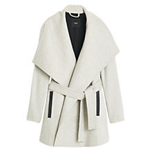 Buy Mango Wide Lapels Wool-Blend Coat Online at johnlewis.com