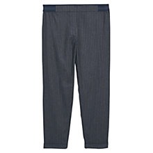 Buy Violeta by Mango Striped Trousers, Navy Online at johnlewis.com