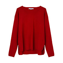 Buy Gerard Darel Bodun Cashmere Jumper, Red Online at johnlewis.com