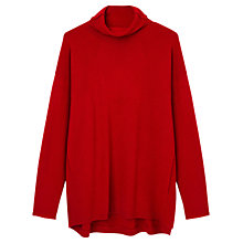 Buy Gerard Darel Badianne Cashmere Jumper, Red Online at johnlewis.com