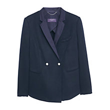 Buy Violeta by Mango Side Pocket Jacket, Navy Online at johnlewis.com