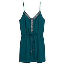 Buy Mango Beaded Embroidery Dress Online at johnlewis.com