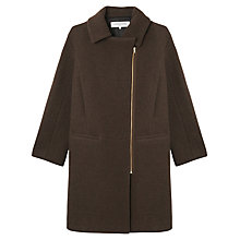 Buy Gerard Darel Bourdonnais Coat, Bronze Online at johnlewis.com