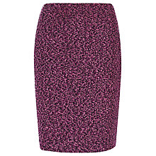 Buy Precis Petite Bouclé Boot Skirt, Pink/Multi Online at johnlewis.com