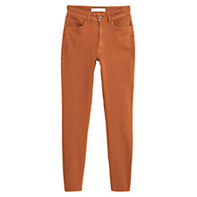 Buy Mango Skinny Cotton Trousers Online at johnlewis.com