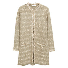 Buy Mango Frayed Edges Cardigan Online at johnlewis.com