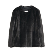 Buy Mango Faux Fur Coat Online at johnlewis.com