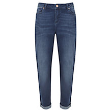 Buy Mint Velvet Cary Indigo Boyfriend Jeans, Blue Online at johnlewis.com