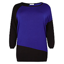 Buy Windsmoor Block Jumper, Blue/Black Online at johnlewis.com